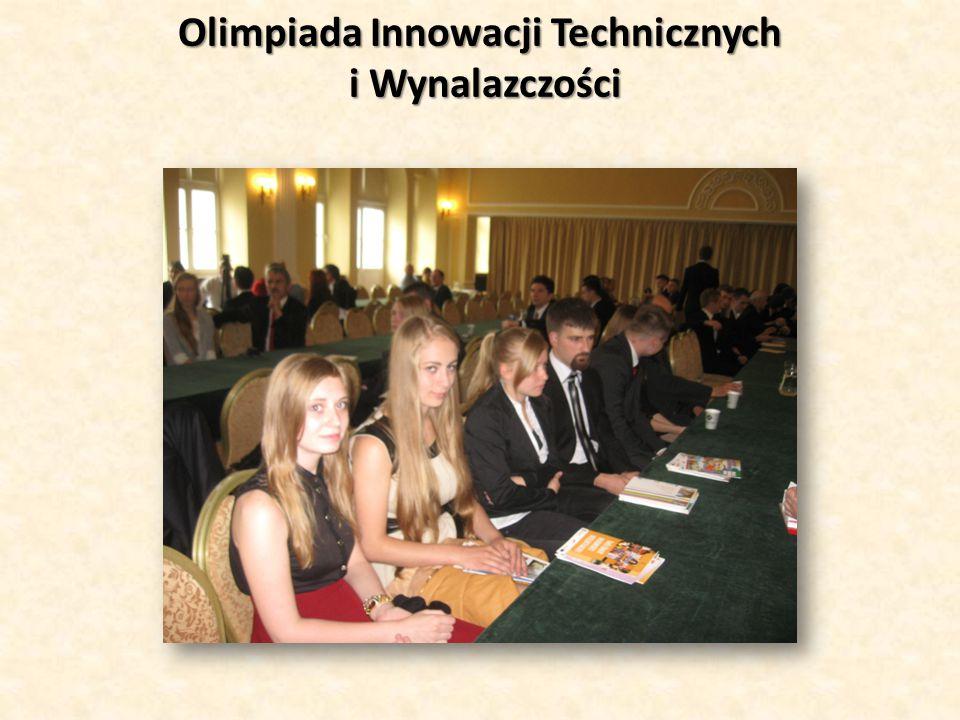 Olimpiada Innowacji Technicznych i Wynalazczości