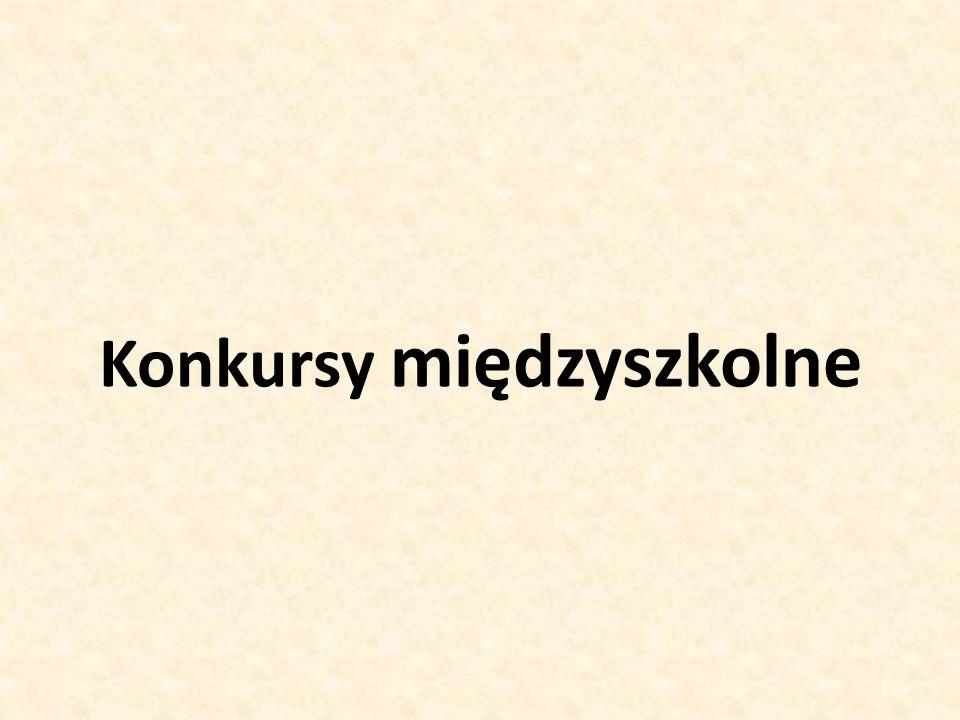 """Międzyszkolny """" Konkurs na najładniejszy wieniec adwentowy Opiekunowie: Barbara Adach, Ewa Iberle, Andrzej Kułakowski"""