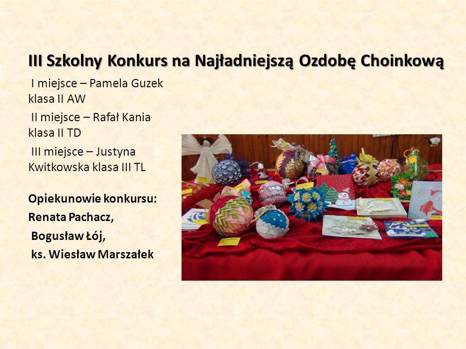 Konkursy wielkanocne III Szkolny Konkurs na Najpiękniejszą Kartkę Wielkanocną: I miejsce – Natalia Szwedo kl.