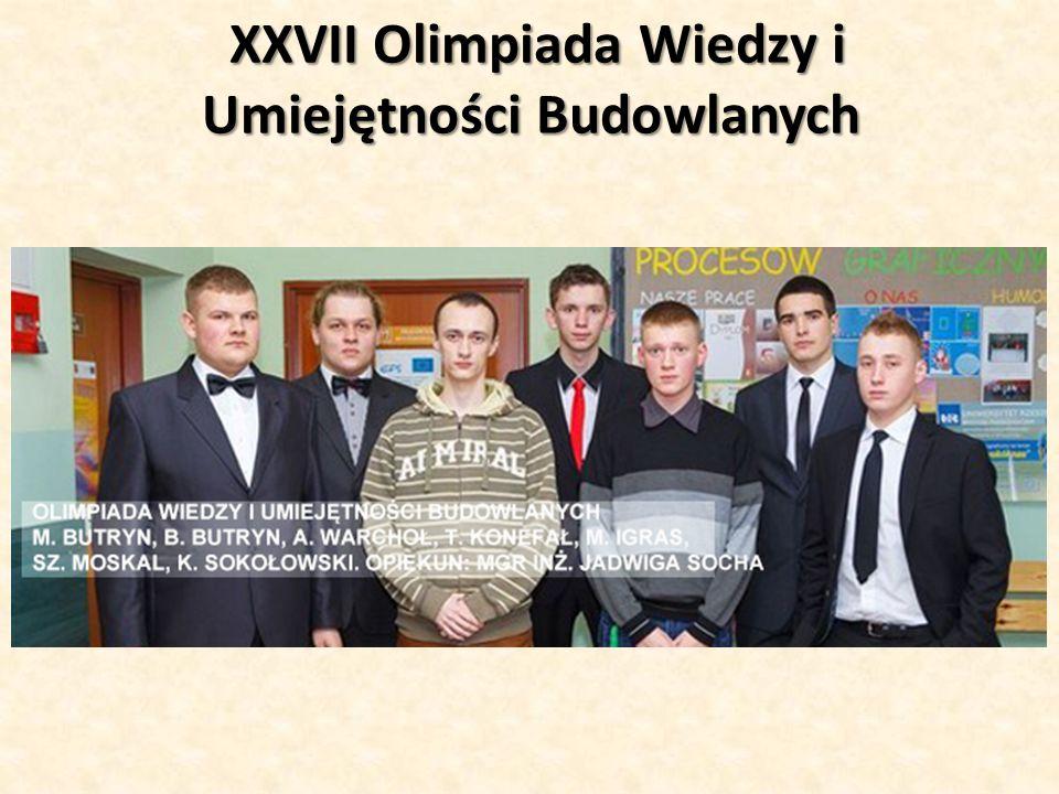 BUDUJ Z PASJĄ Szkołę reprezentowali: Michał Butryn kl.