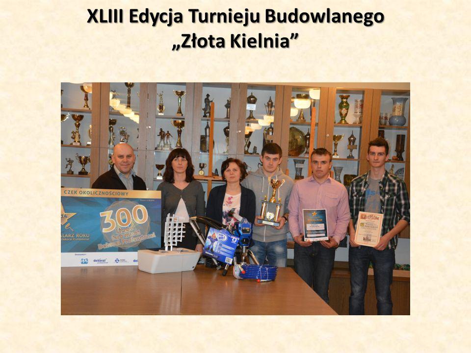 """XLIII Edycja Turnieju Budowlanego """"Złota Kielnia"""""""