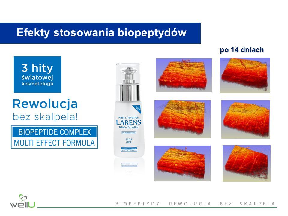 Efekty stosowania biopeptydów po 14 dniach