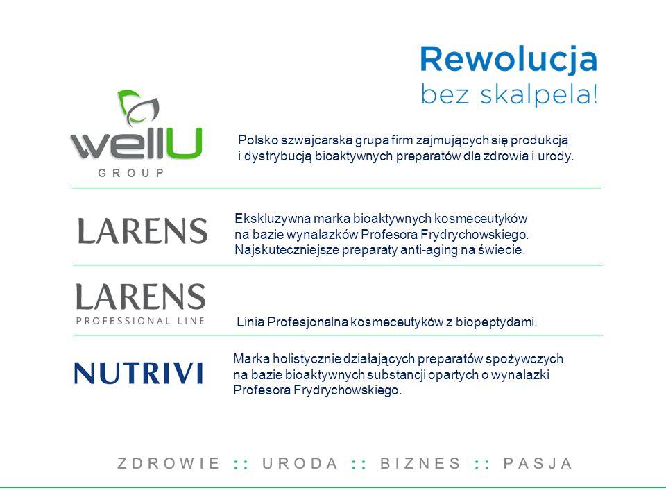 Polsko szwajcarska grupa firm zajmujących się produkcją i dystrybucją bioaktywnych preparatów dla zdrowia i urody.