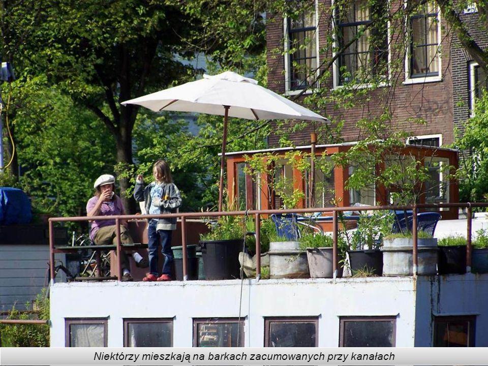 W Amsterdamie jest 165 kanałów, 1281 mostów, 8 drewnianych mostów zwodzonych, przy brzegach przycumowanych jest 2500 łodzi, w tym większość mieszkalny
