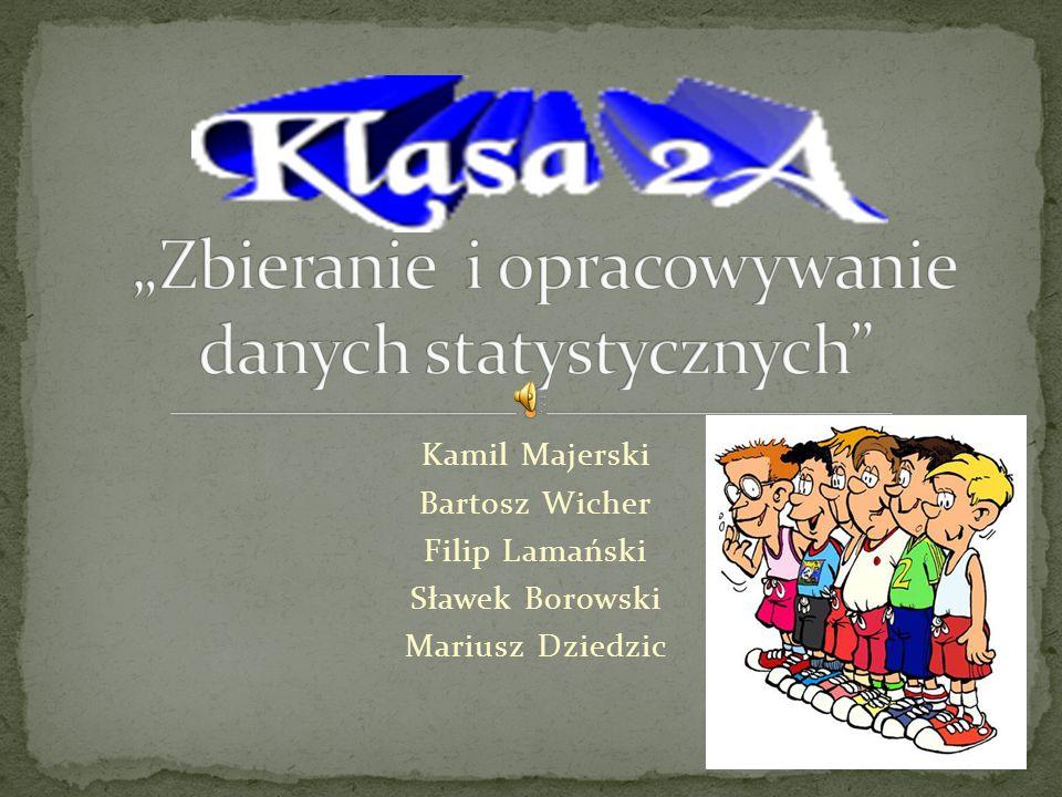Kamil Majerski Bartosz Wicher Filip Lamański Sławek Borowski Mariusz Dziedzic