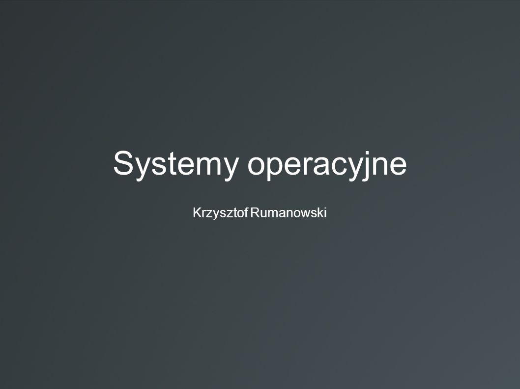Spis treści:  Co to system operacyjny.