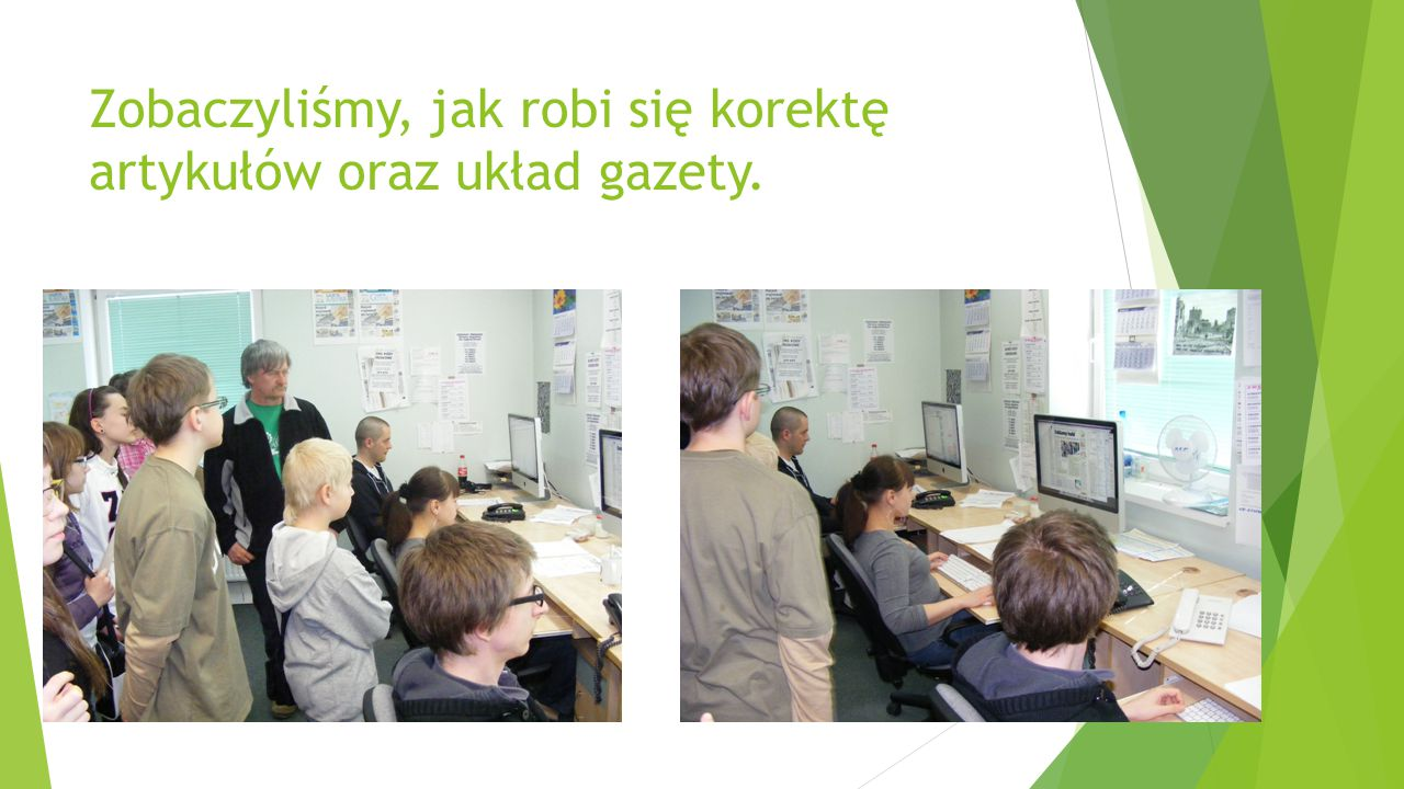 """W siedzibie """"Gazety Olsztyńskiej obejrzeliśmy wystawę artykułów o Janie Pawle II."""