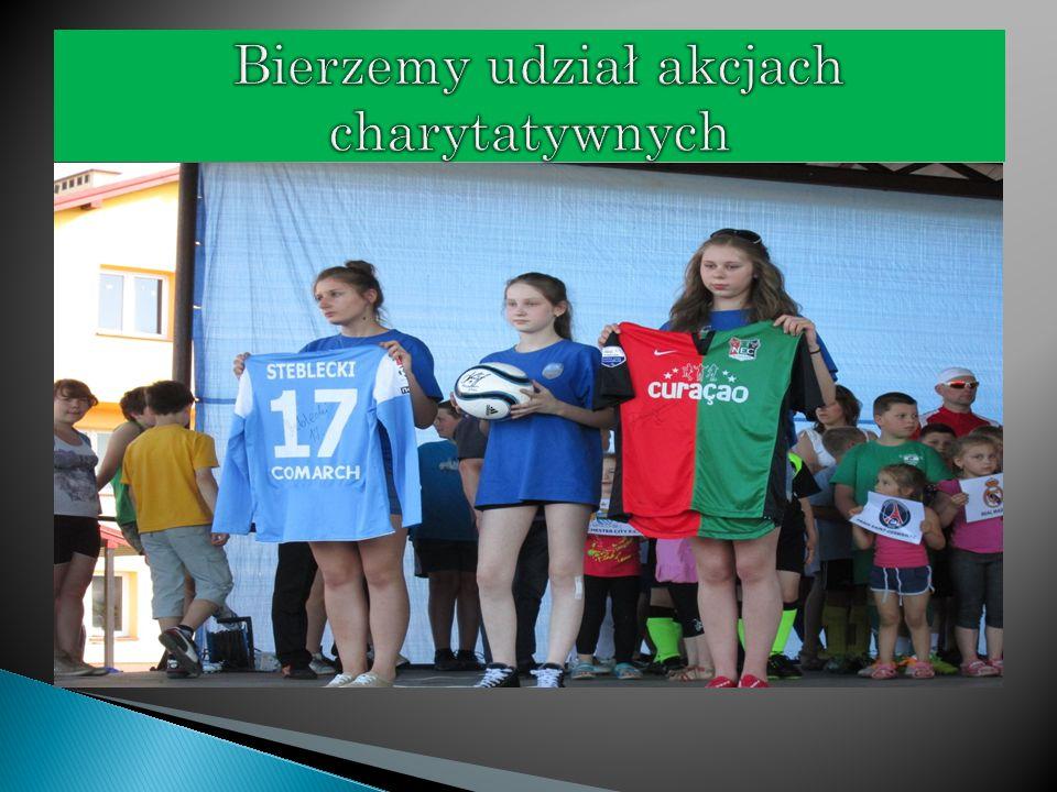  Chciałbym również zaznaczyć iż w celu propagowania dziedziny sportu jaką jest piłka nożna, daliśmy możliwość brania udziału w zajęciach zmniejszając