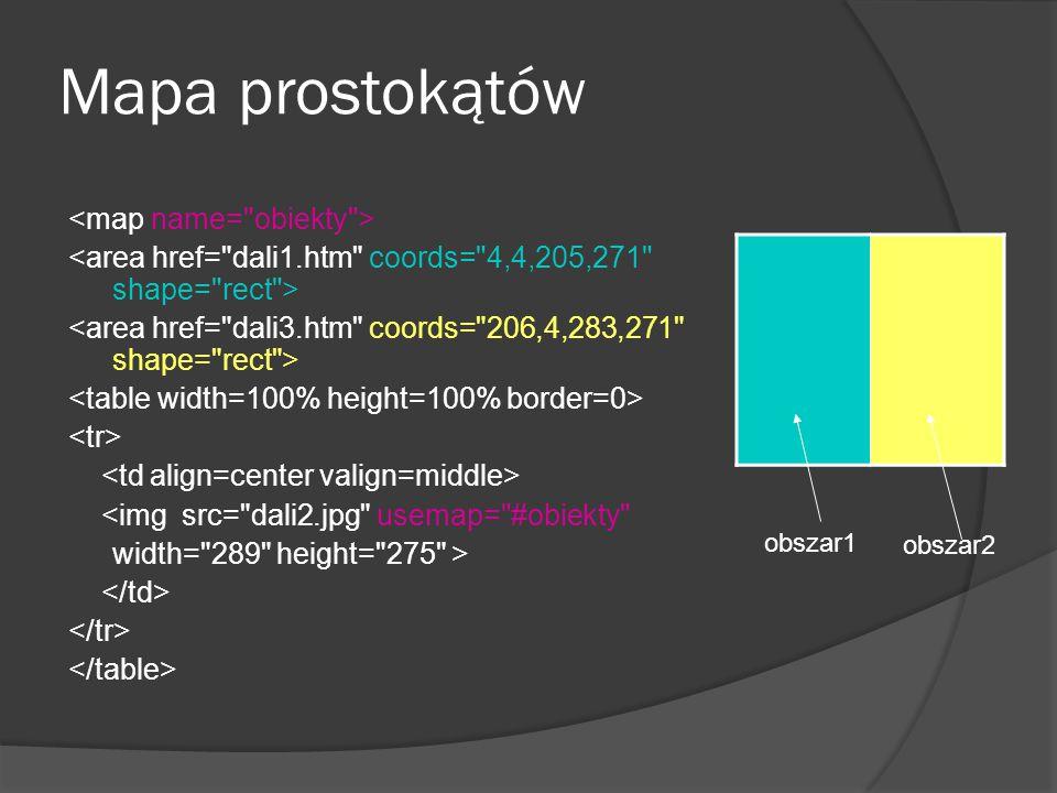 Mapa prostokątów <img src=
