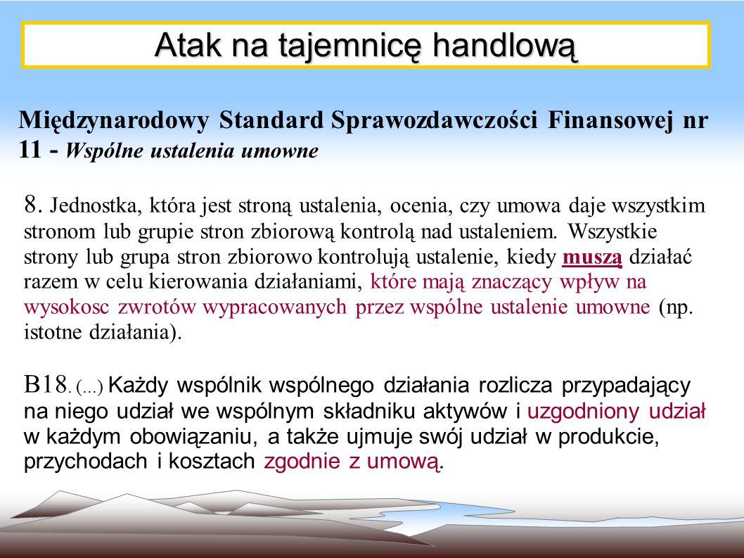 """Przykład wspólnego ustalenia umownego instytucjonalizującego """"kontrakt z rynkiem"""""""