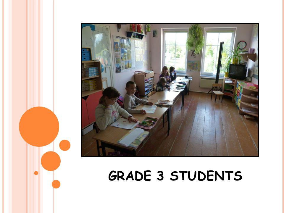 GRADE 3 STUDENTS