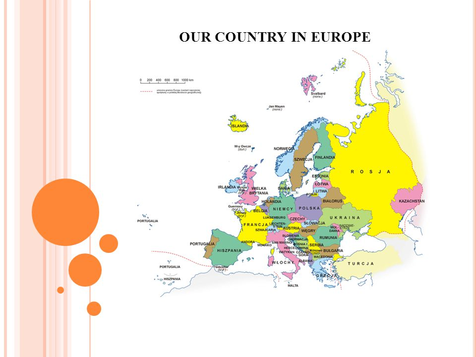 OUR COUNTRY IN EUROPE