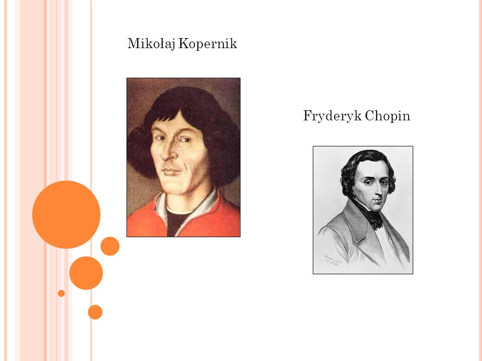 Mikołaj Kopernik Fryderyk Chopin