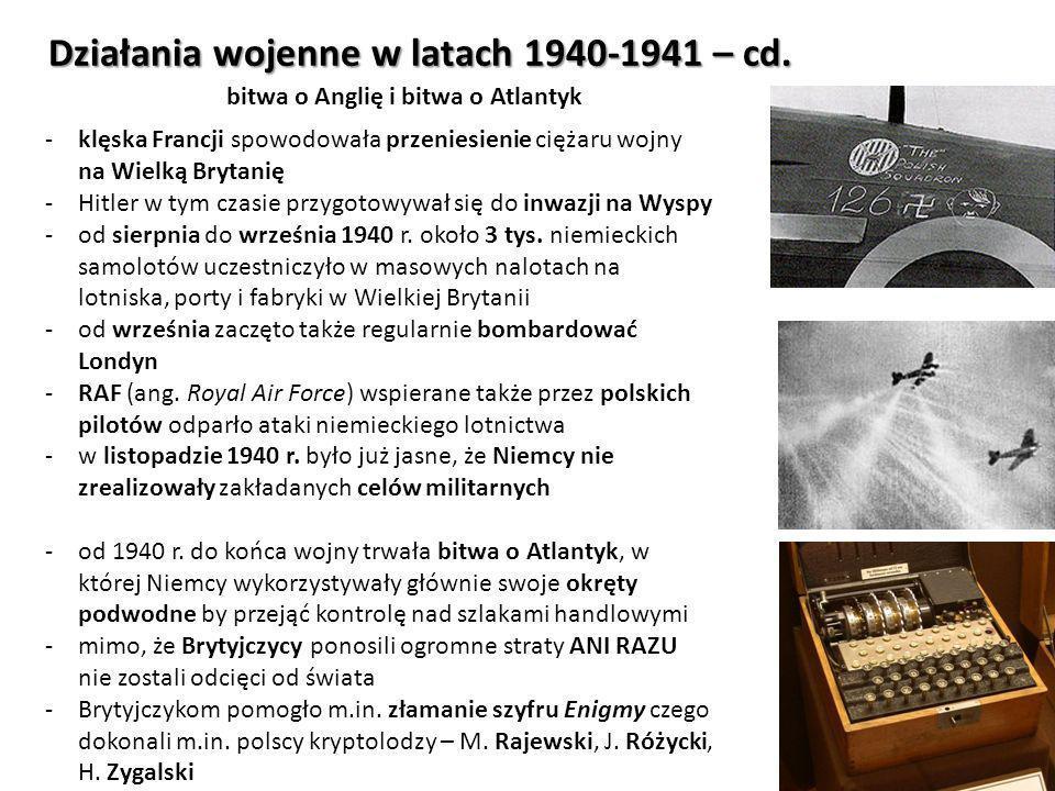 Działania wojenne w latach 1942-1945 Wojna na Pacyfiku - epilog -od 1943 r.