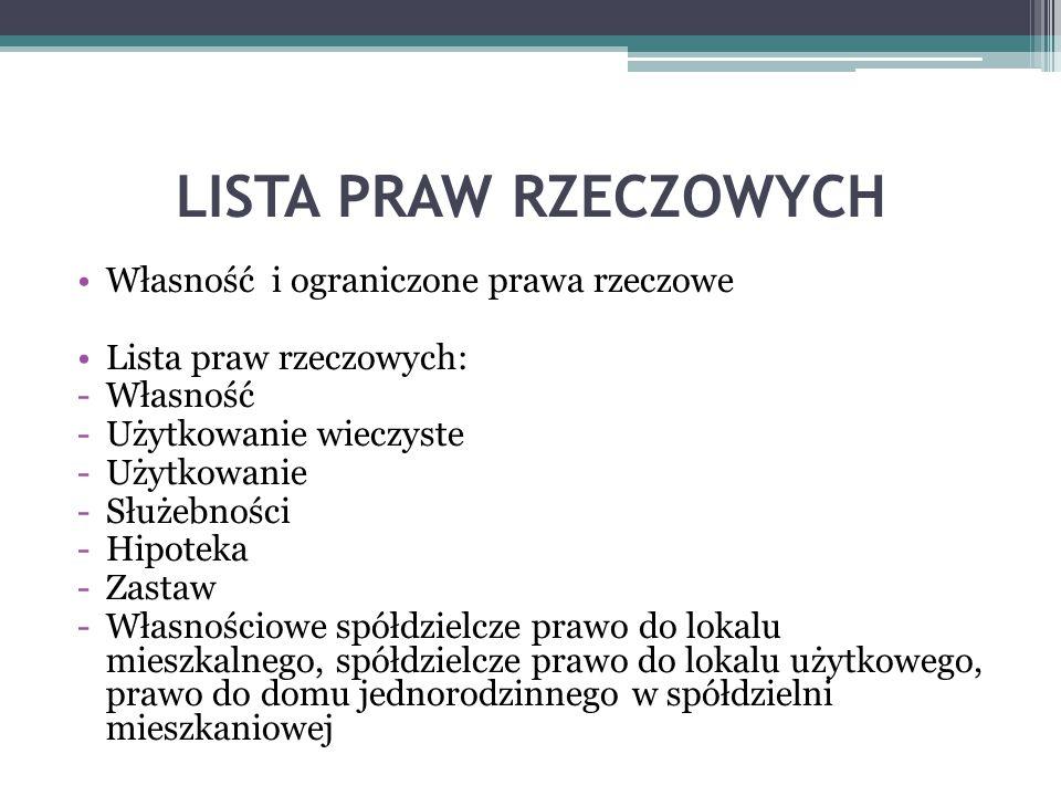 Ustawa o gospodarce nieruchomościami GospNierU z 21 sierpnia 1997 z pn.zm.