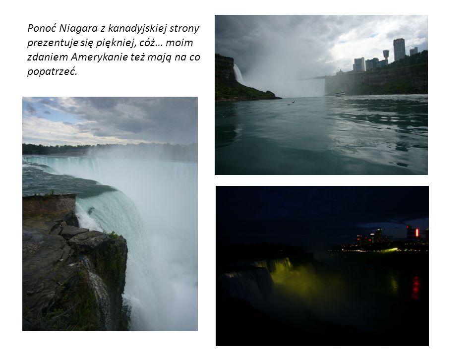 Ponoć Niagara z kanadyjskiej strony prezentuje się piękniej, cóż… moim zdaniem Amerykanie też mają na co popatrzeć.