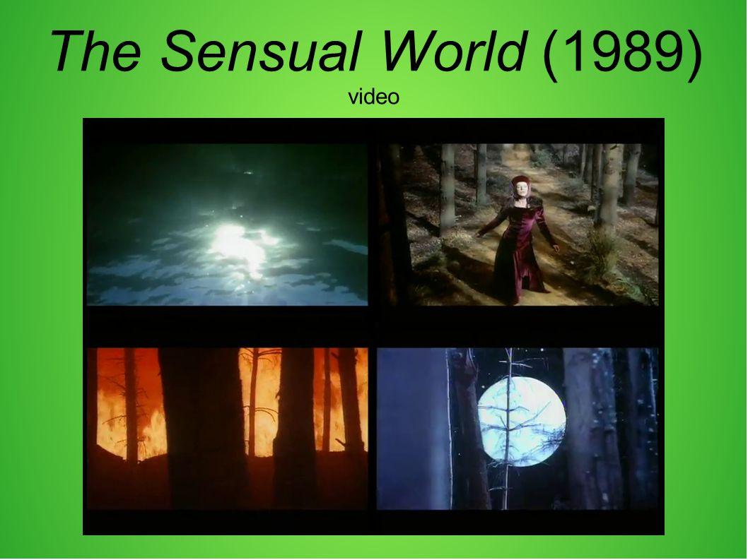 The Sensual World (1989) video