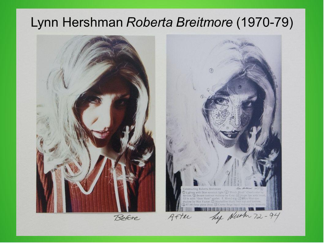 Lynn Hershman Roberta Breitmore (1970-79)