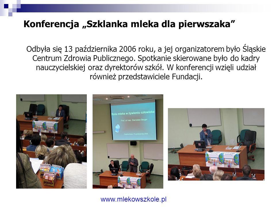 """Konferencja """"Prawidłowe żywienie młodzieży warunkiem zdrowego społeczeństwa"""". 06 października 2005 w Siedlcach odbyła się konferencja """"Prawidłowe żywi"""