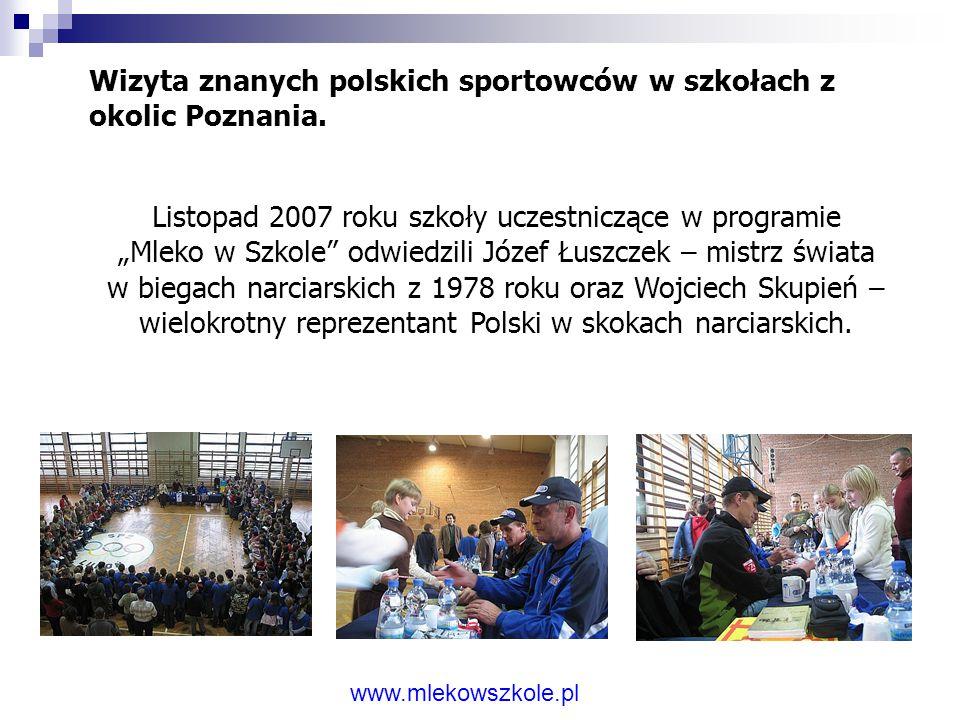"""Konferencja """"Szklanka mleka dla pierwszaka"""" Odbyła się 13 października 2006 roku, a jej organizatorem było Śląskie Centrum Zdrowia Publicznego. Spotka"""