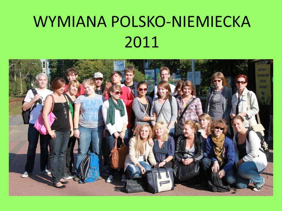 WYMIANA POLSKO-NIEMIECKA 2011
