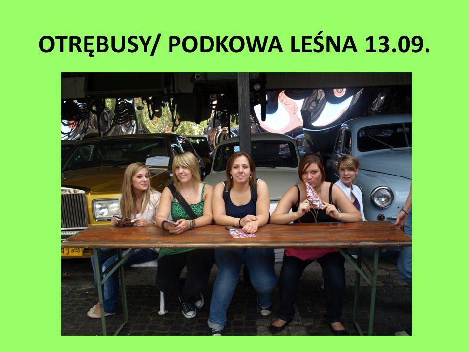 OTRĘBUSY/ PODKOWA LEŚNA 13.09.