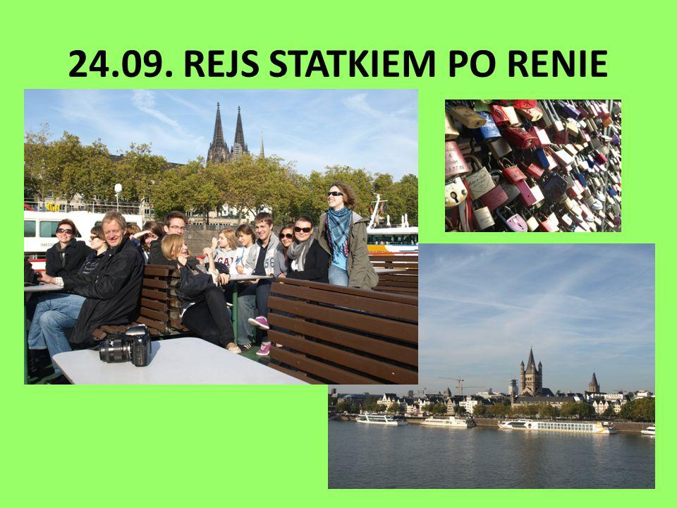 24.09. REJS STATKIEM PO RENIE