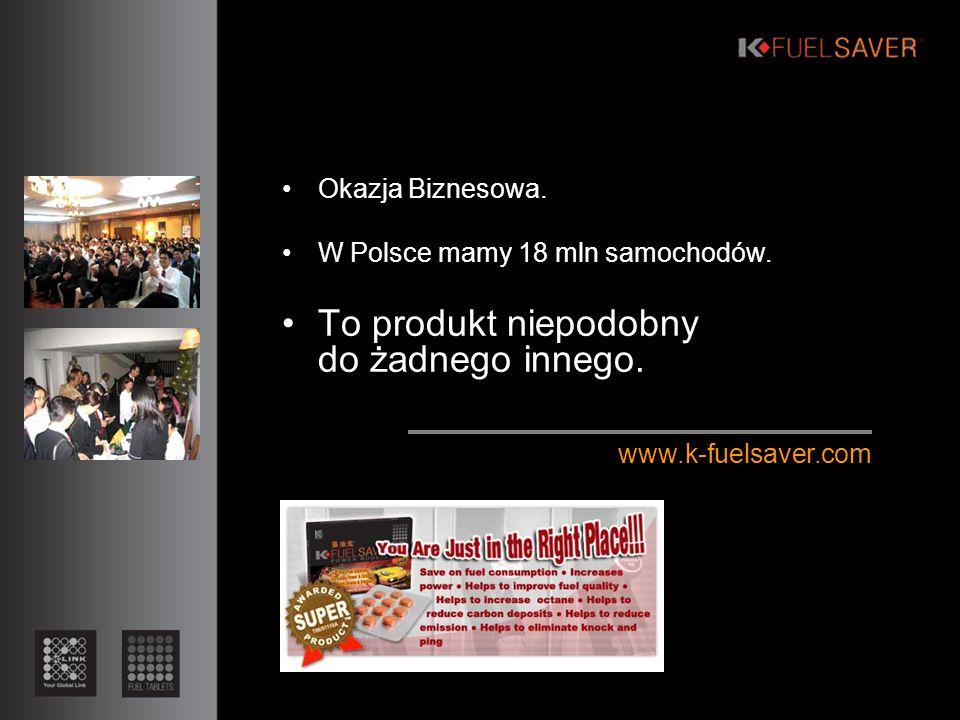 Okazja Biznesowa. W Polsce mamy 18 mln samochodów.
