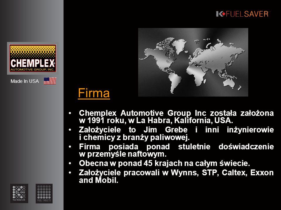 Historia 1991 – Narodziny of Chemplex Automotive Inc.