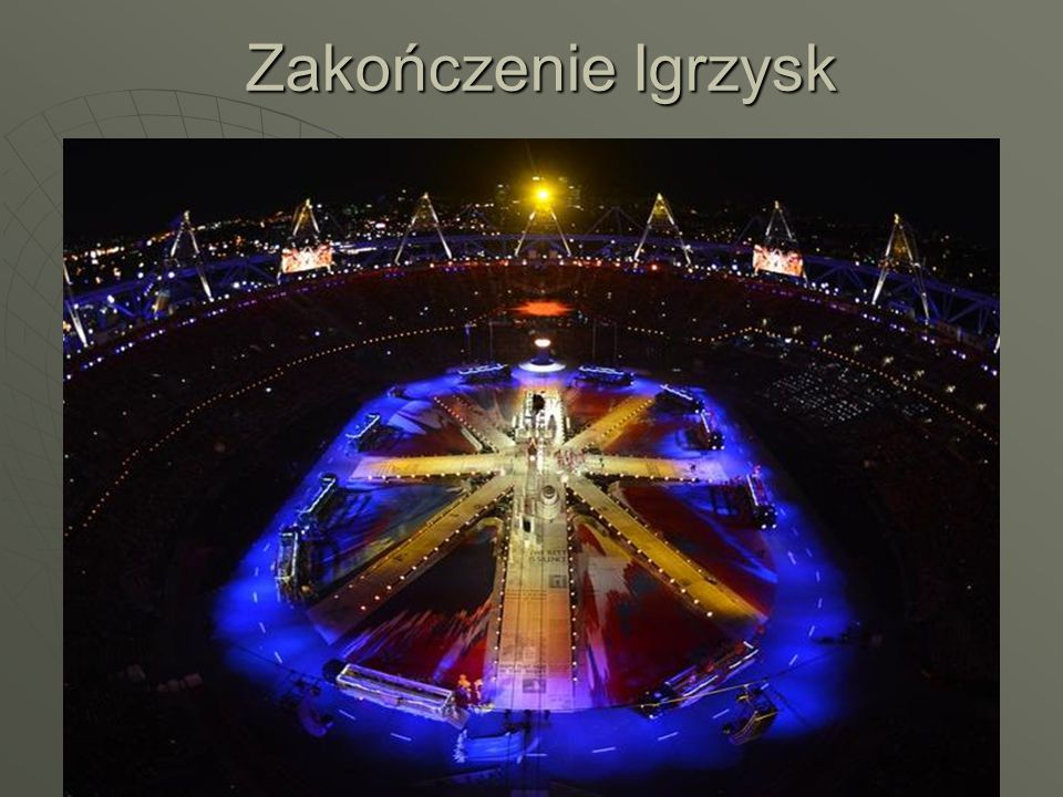Zakończenie Igrzysk