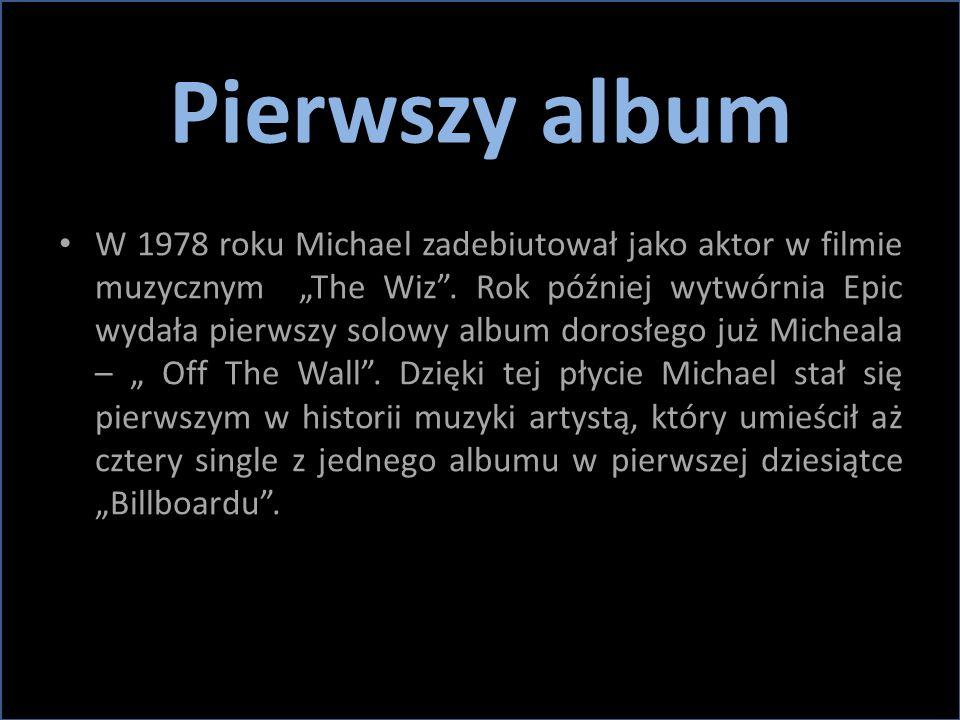 """Pierwszy album W 1978 roku Michael zadebiutował jako aktor w filmie muzycznym """"The Wiz"""". Rok później wytwórnia Epic wydała pierwszy solowy album doros"""