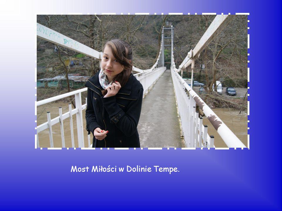 Most Miłości w Dolinie Tempe.