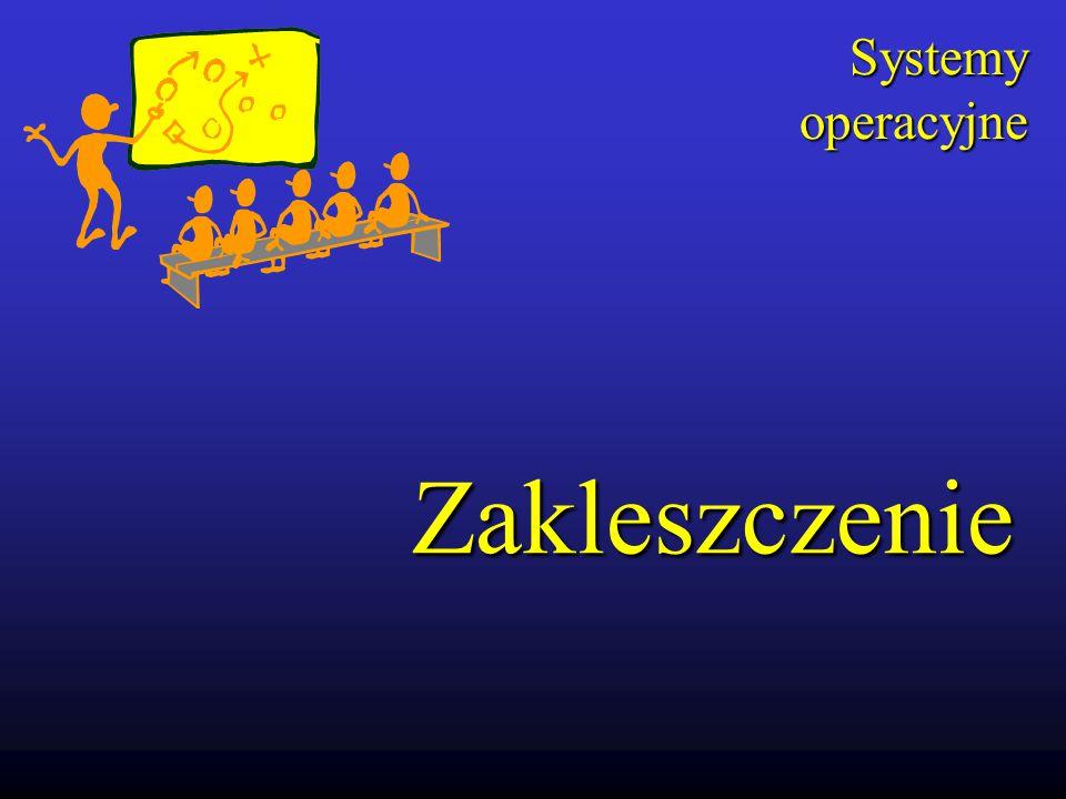 Zakleszczenie Systemy operacyjne