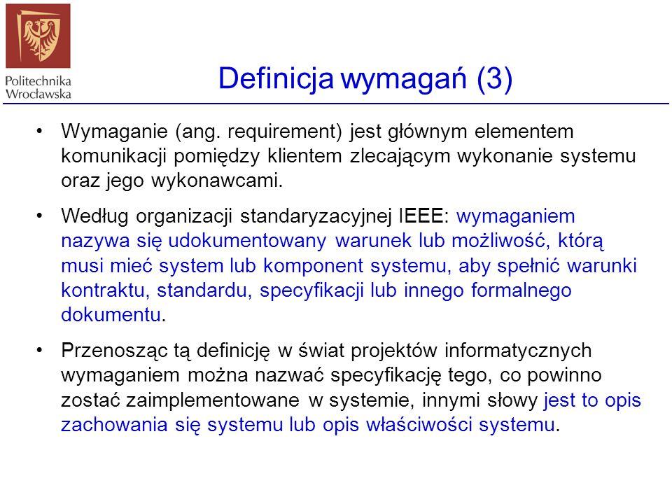 Automatyczne sprawdzanie niesprzeczności ©Ian Sommerville 2000: Inżynieria oprogramowania.