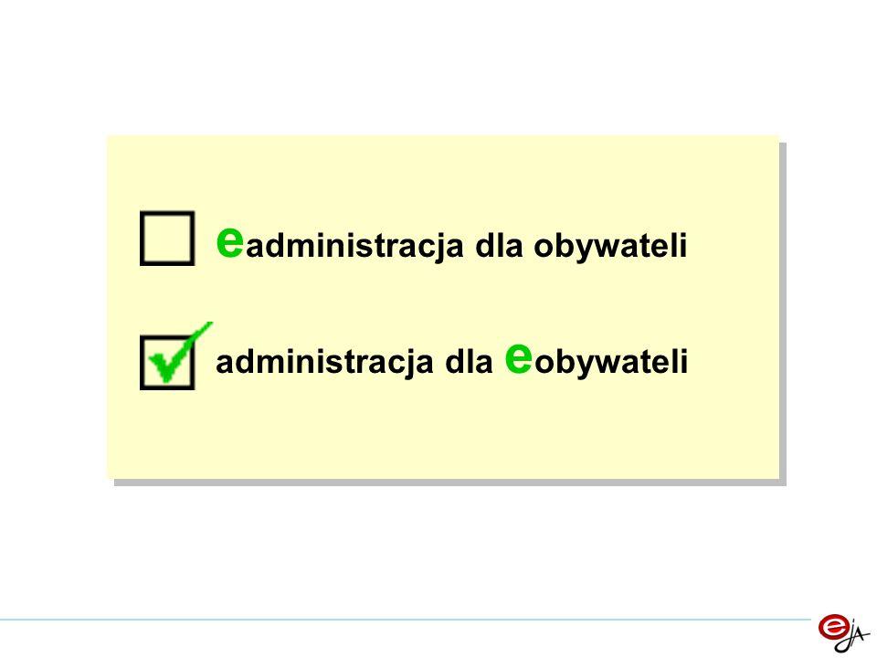 Tytuł e administracja dla obywateli administracja dla e obywateli