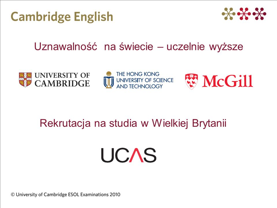 Uznawalność na świecie – uczelnie wyższe Rekrutacja na studia w Wielkiej Brytanii