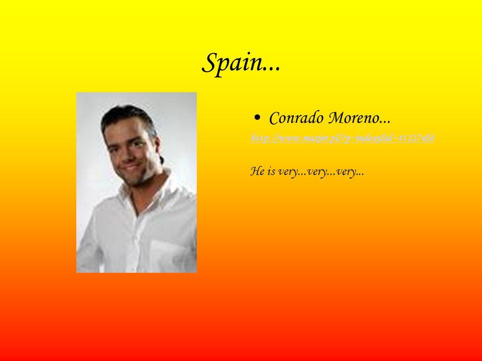 Spain... Conrado Moreno... http://www.maxior.pl/?p=index&id=41227&0 He is very...very...very...