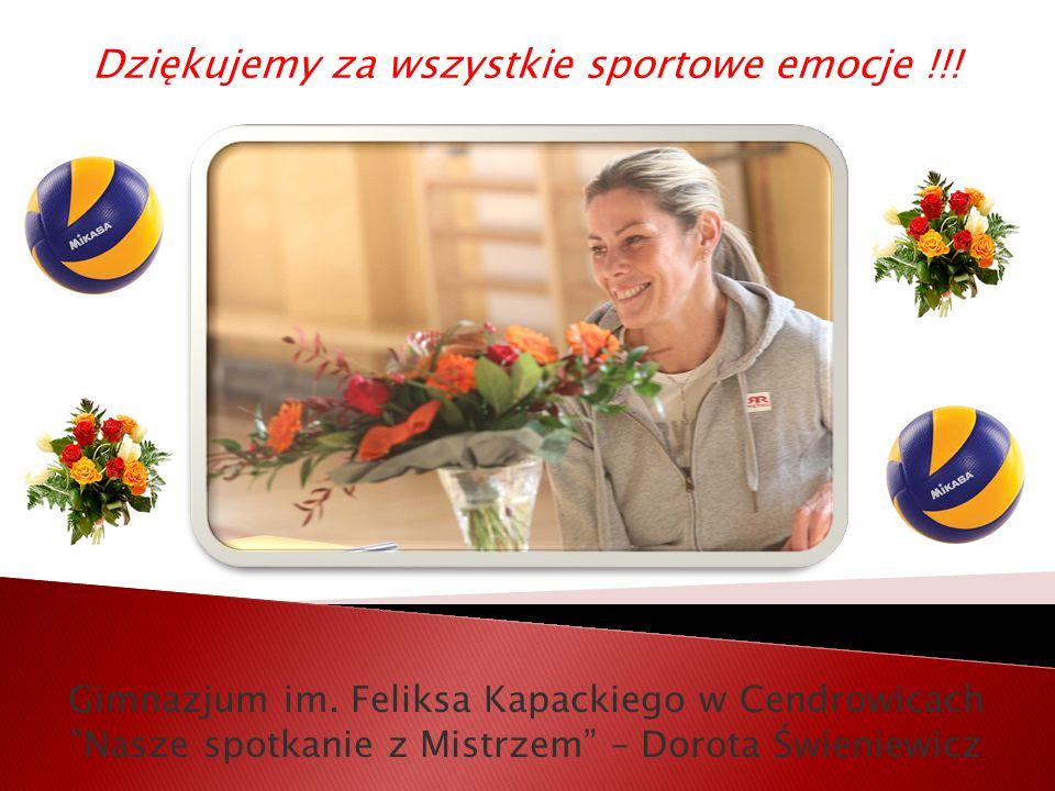 Dziękujemy za wszystkie sportowe emocje !!. Gimnazjum im.