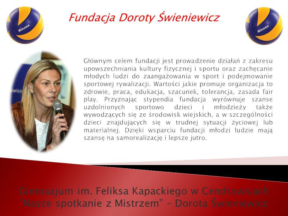 Fundacja Doroty Świeniewicz Gimnazjum im.