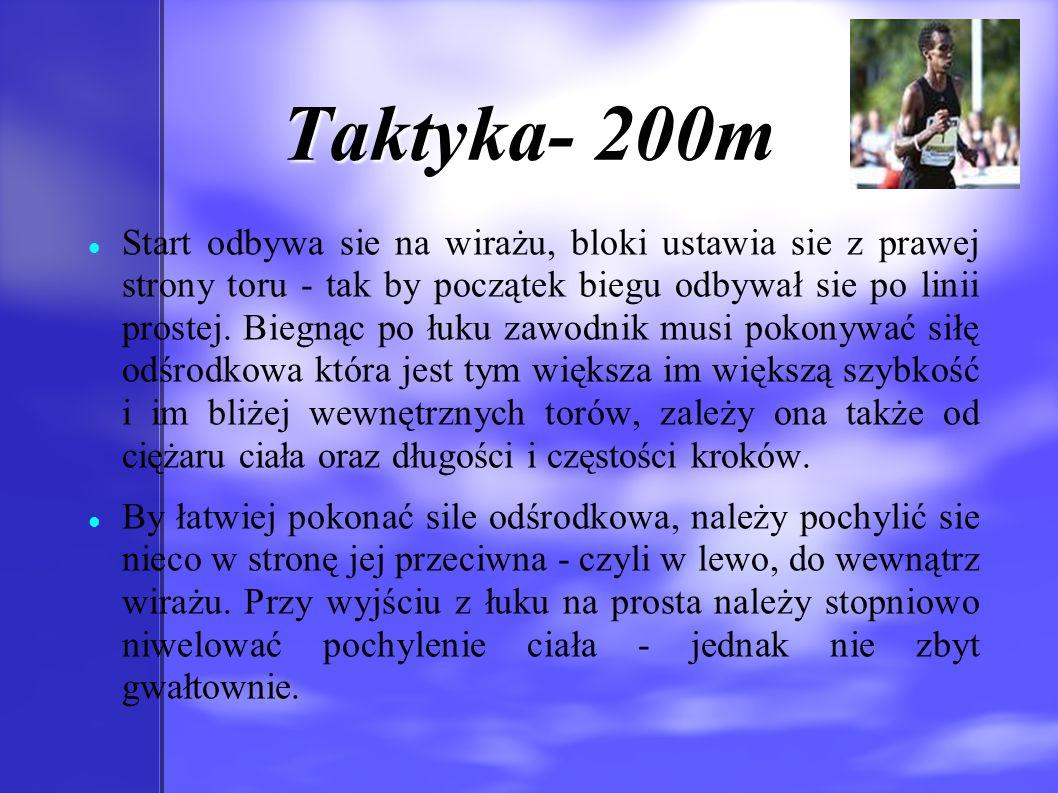 Historia-400m D ystans wywodzi się z biegu na ćwierć mili (440 yardów lub 402.34m).