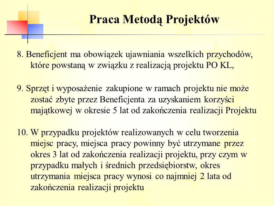 Praca Metodą Projektów 8.