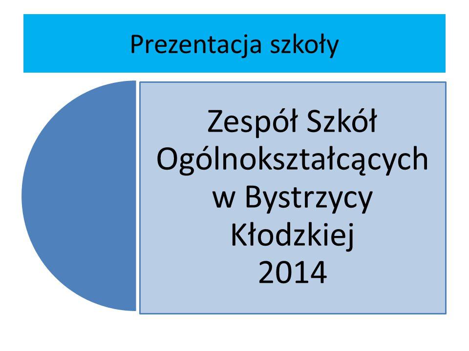Prezentacja szkoły Zespół Szkół Ogólnokształcących w Bystrzycy Kłodzkiej 2014