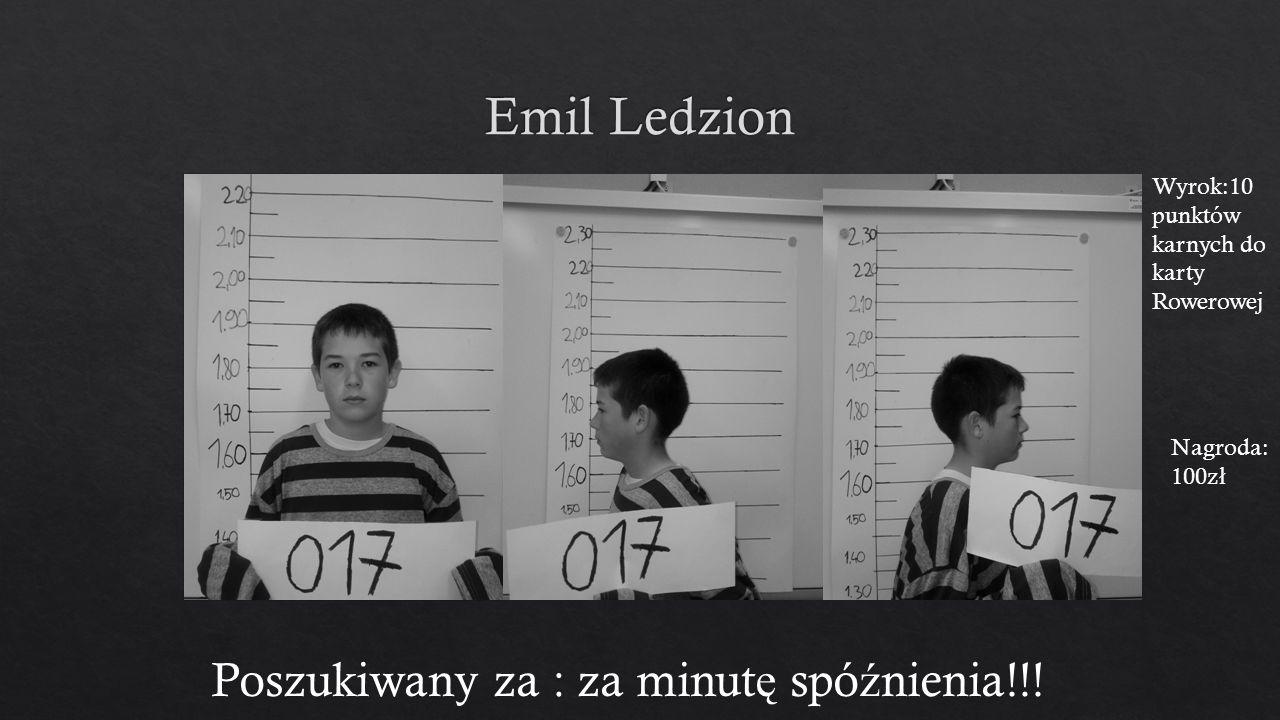 Poszukiwany za : za minut ę spó ź nienia!!.