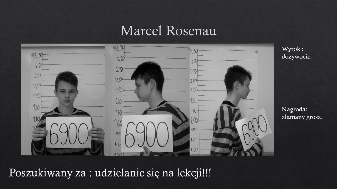 Poszukiwany za : udzielanie si ę na lekcji!!! Wyrok : do ż ywocie. Nagroda: z ł amany grosz.