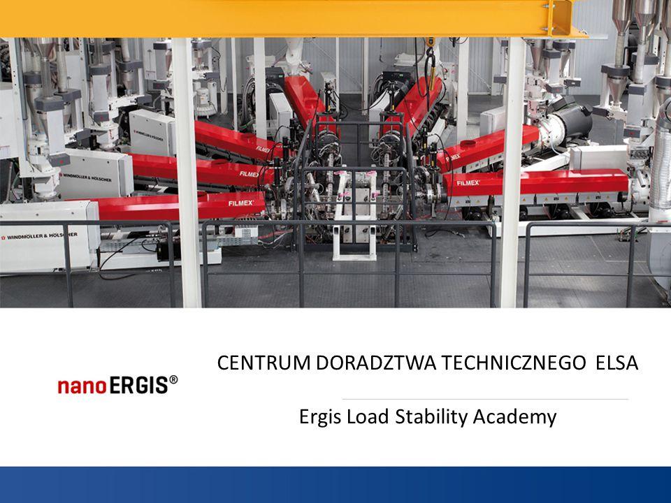 ELSA Centrum Badania Stabilności Ładunków Centrum Badania Stabilności Ładunków ELSA, bada stabilność palet z produktami, a także tworzy od podstaw programy owijania palet.