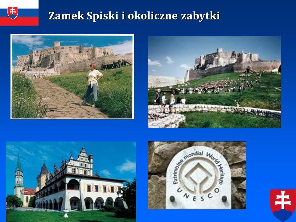 Zamek Spiski i okoliczne zabytki