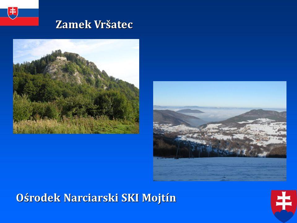 Zamek Vršatec Ośrodek Narciarski SKI Mojtín