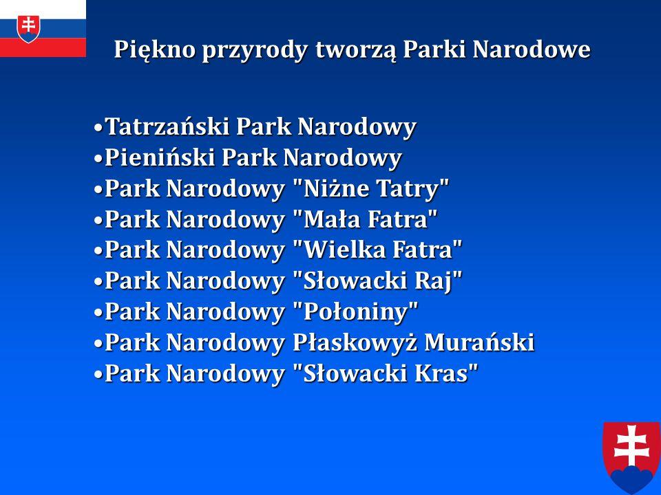 Piękno przyrody tworzą Parki Narodowe Tatrzański Park NarodowyTatrzański Park Narodowy Pieniński Park NarodowyPieniński Park Narodowy Park Narodowy
