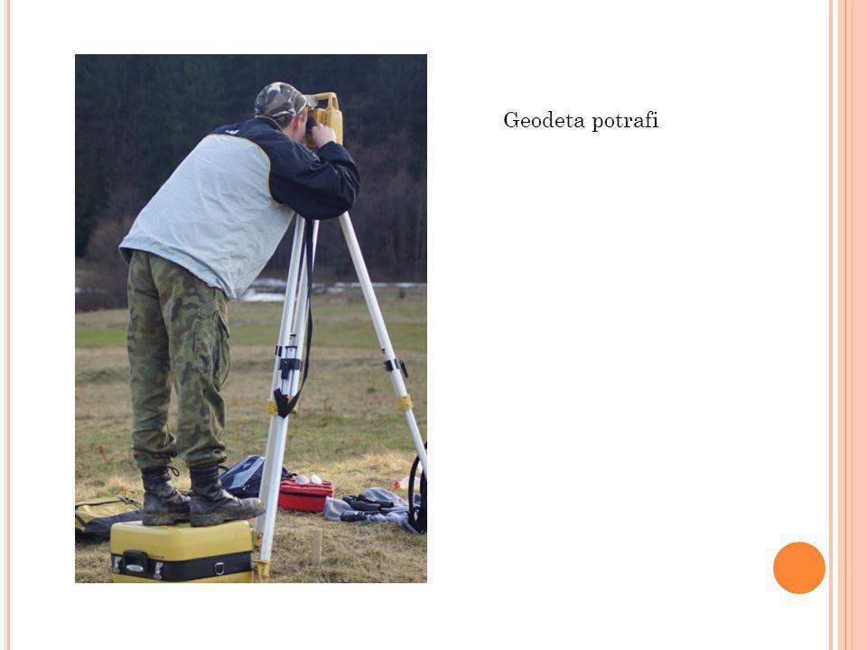 Geodeta potrafi