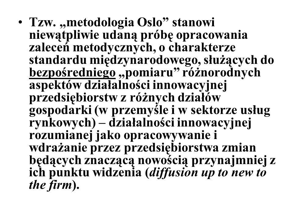 """Tzw. """"metodologia Oslo"""" stanowi niewątpliwie udaną próbę opracowania zaleceń metodycznych, o charakterze standardu międzynarodowego, służących do bezp"""